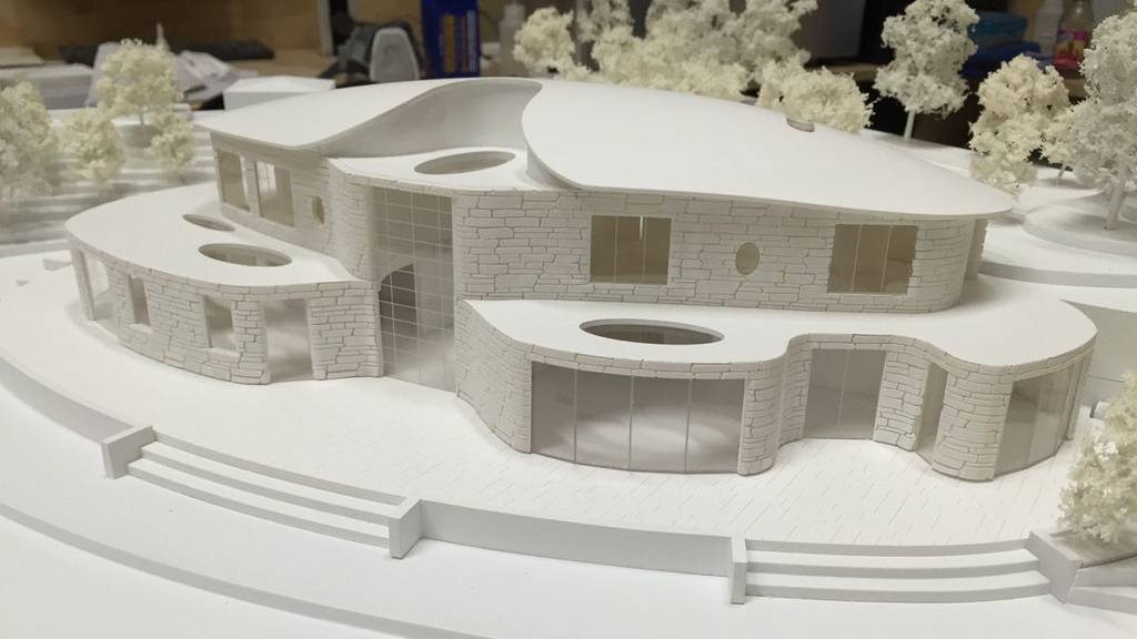 3D Printed Architectural Residence 1:150 5