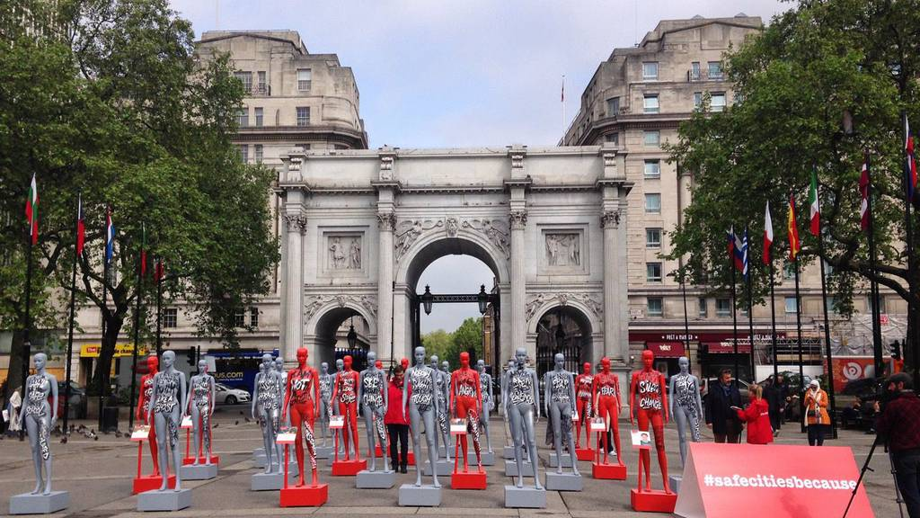 International Safe Cities Day at Marble Arch