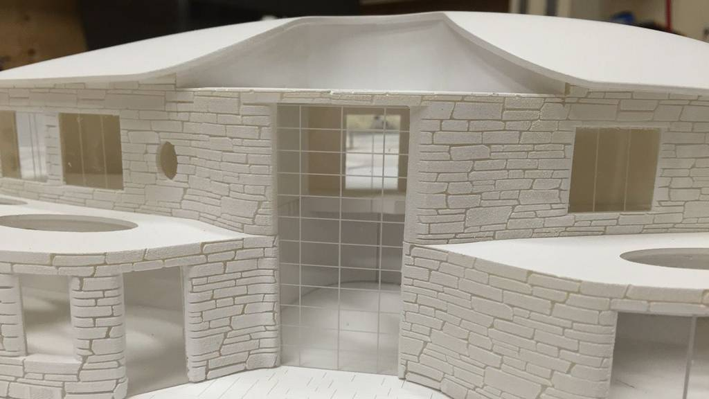 3D Printed Architectural Residence 1:150